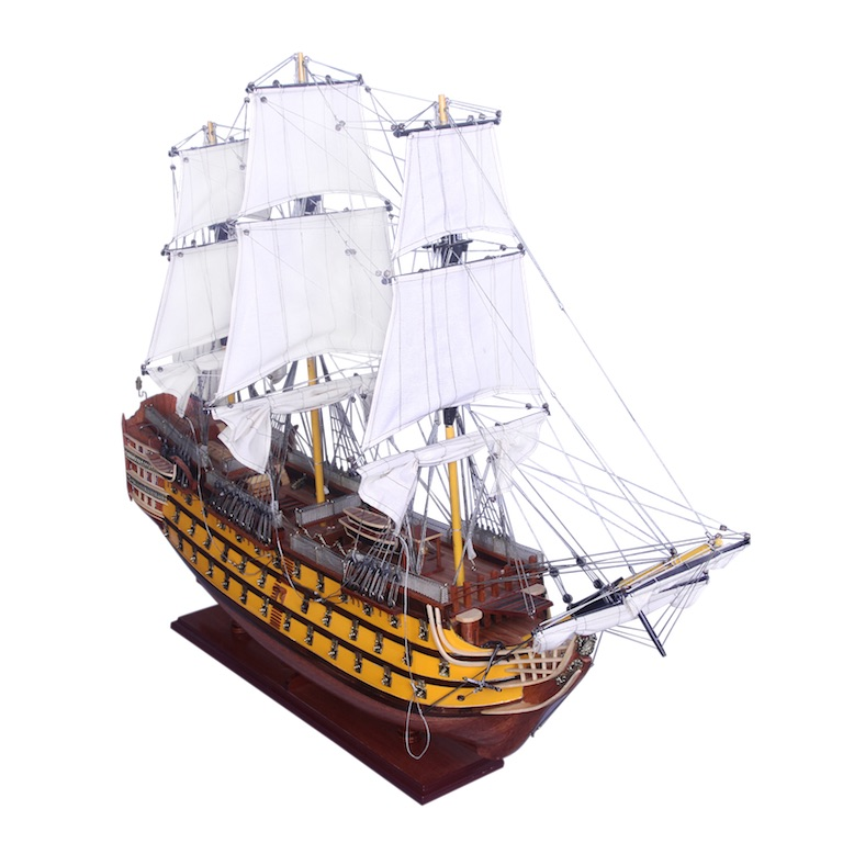 Hms Victory Model Ship 80cm The Nautical Store